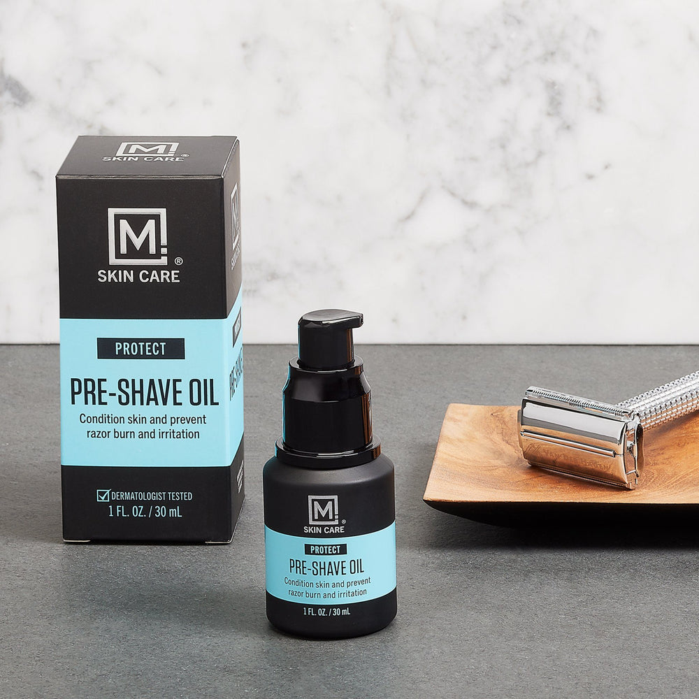 M. Skin Care Protect Pre-Shave Oil