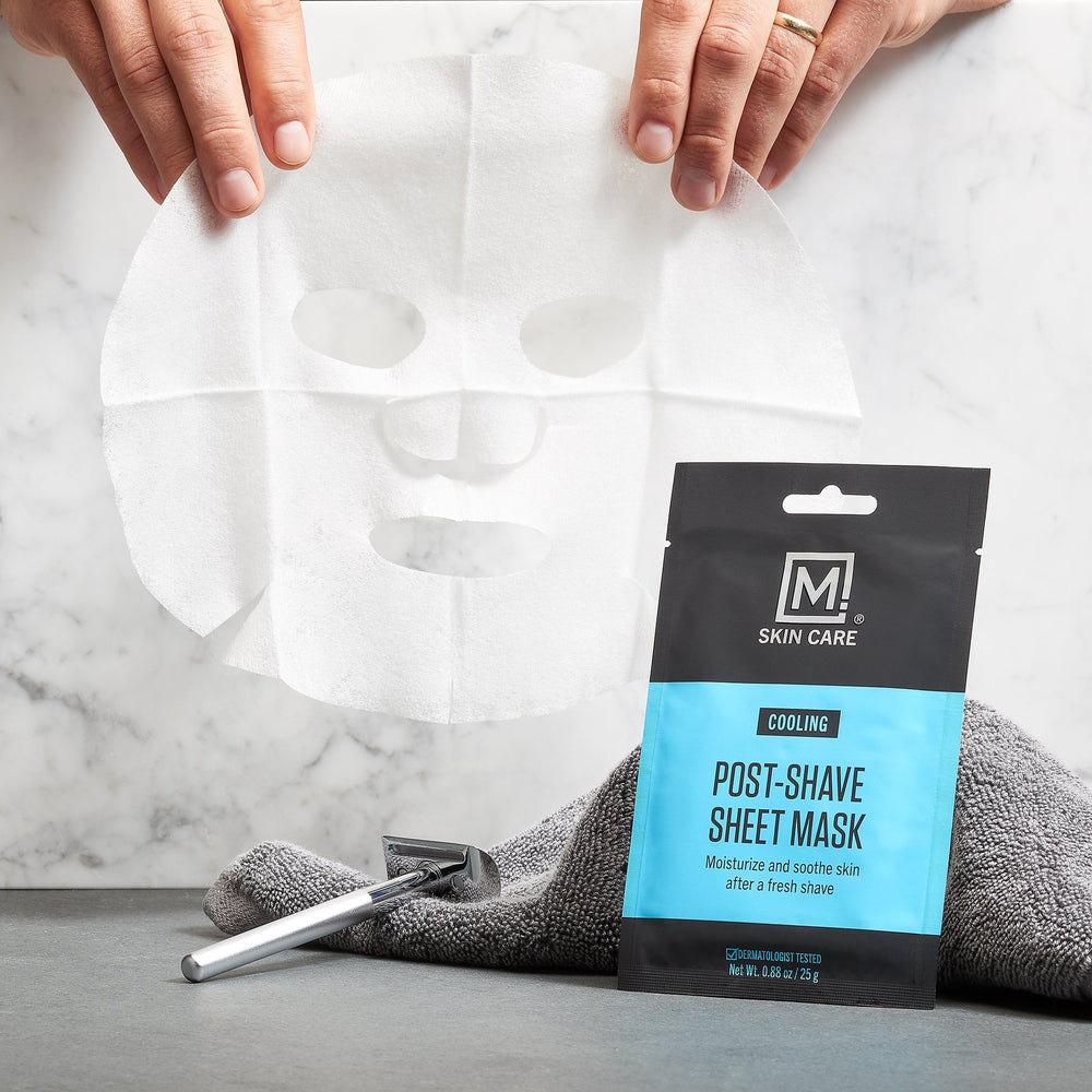 M. Skin Care Post-Shave Cooling Sheet Mask