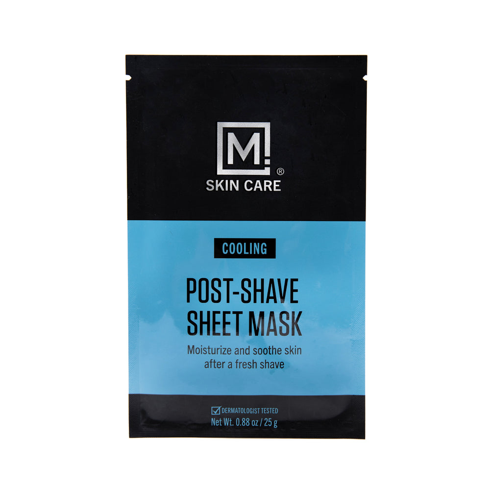 Post-Shave Cooling Sheet Mask