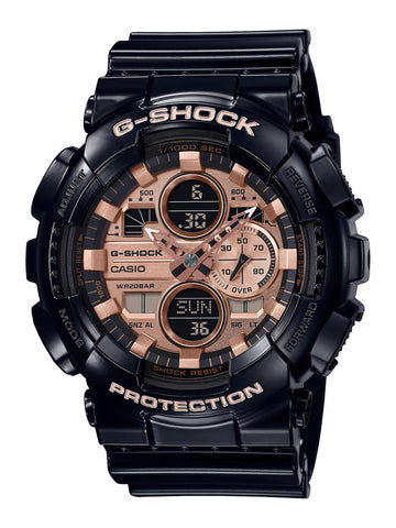 G-Shock - GA140GB-1A1 Matte Black Rose Gold Watch
