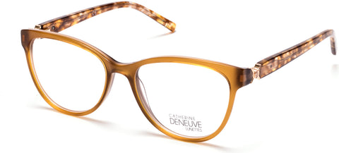 Catherine Deneuve - CD0420 Light Brown Eyeglasses / Demo Lenses