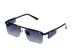 Italia Independent - Gilles Blue Sunglasses / Shaded Grey Lenses