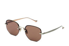 Italia Independent - Roy Pale Gold Sunglasses / Gold Mirror Lenses