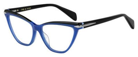 Rag & Bone - Rnb 3020 Blue Eyeglasses / Demo Lenses