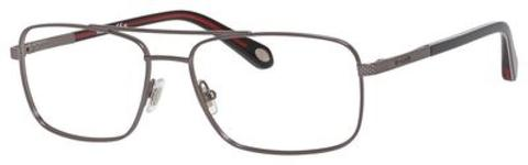Fossil - Fos 6060 Semi Matte Dark Ruthenium Eyeglasses / Demo Lenses