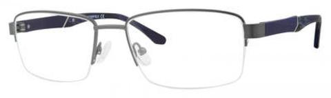 Chesterfield Eyewear - Ch 68XL 57mm Matte Gray Eyeglasses / Demo Lenses