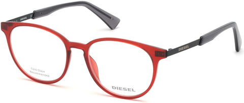 Diesel - DL5289 Shiny Red Eyeglasses / Demo Lenses