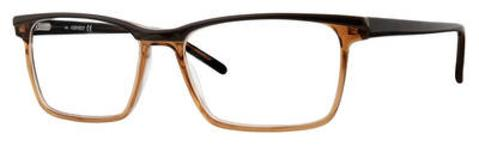 Adensco - Ad 119 54mm Brown Crystal Eyeglasses / Demo Lenses