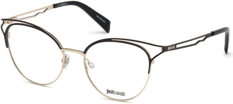 Just Cavalli - JC0860 Black Eyeglasses / Demo Lenses