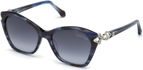 Roberto Cavalli - RC1077 Minucciano Blue Sunglasses / Gradient Blue Lenses