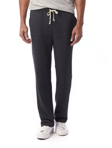Alternative Apparel - Hustle Eco Fleece Open Bottom Eco Black Sweatpants