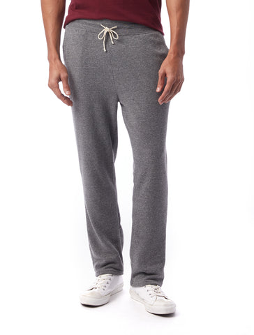 Alternative Apparel - Hustle Eco Fleece Open Bottom Eco Grey Sweatpants