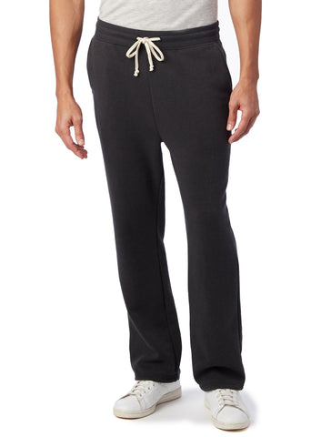 Alternative Apparel - Hustle Eco Fleece Open Bottom Eco True Black Sweatpants