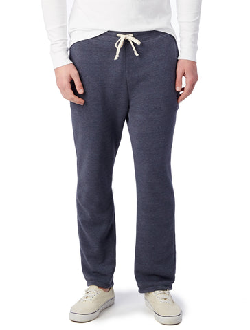 Alternative Apparel - Hustle Eco Fleece Open Bottom Eco True Navy Sweatpants