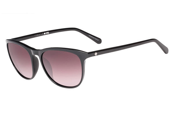 Spy - Cameo Black Sunglasses, Happy Merlot Fade Lenses