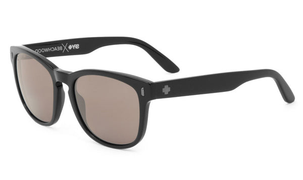 Spy - Beachwood Matte Black Sunglasses, Happy Grey Green Lenses