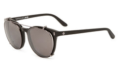Spy - Alcatraz Black Sunglasses, Happy Bronze Polarized w/ Black Mirror Lenses