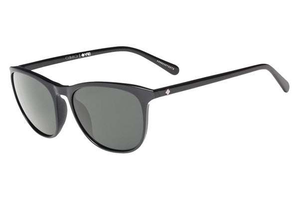 Spy - Cameo Black Sunglasses, Happy Grey Green Polar Lenses
