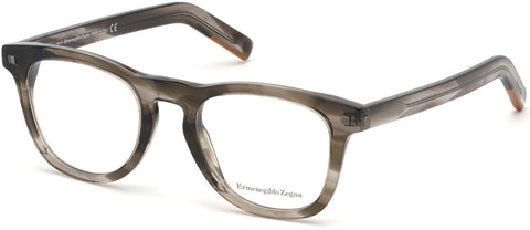 Ermenegildo Zegna - EZ5137 Grey Eyeglasses / Demo Lenses