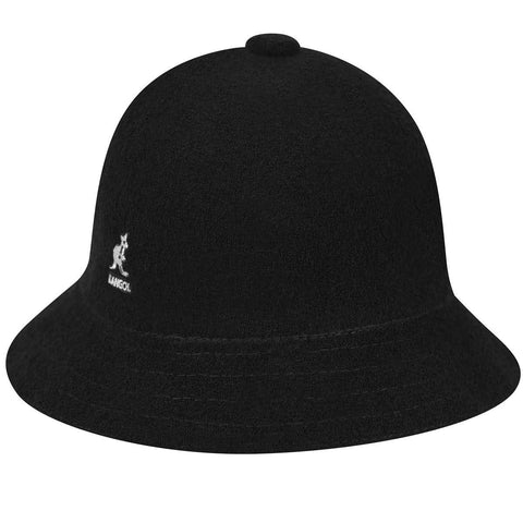 Kangol - Bermuda Casual Black Hat
