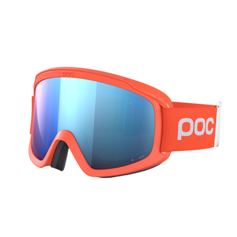 POC - Opsin Clarity Comp Fluorescent Orange Goggles / Spektris Blue Lenses