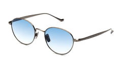 Italia Independent - Joseph Gunmetal Sunglasses / Shaded Cosmetic Blue Lenses