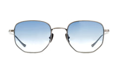 Italia Independent - Keith Gunmetal Sunglasses / Shaded Cosmetic Blue Lenses