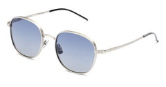 Italia Independent - Joanna Silver Sunglasses / Shaded Blue Lenses