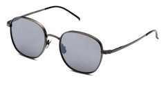 Italia Independent - Joanna Gunmetal Sunglasses / Silver Mirror Lenses