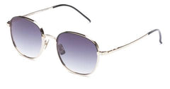 Italia Independent - Joanna Pink Gold + Black Sunglasses / Shaded Grey Lenses