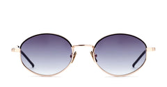 Italia Independent - Francis Gold Sunglasses / Shaded Grey Lenses