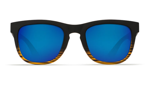 Costa - Copra  Matte Coconut Fade Sunglasses / Blue Polarized Plastic Lenses