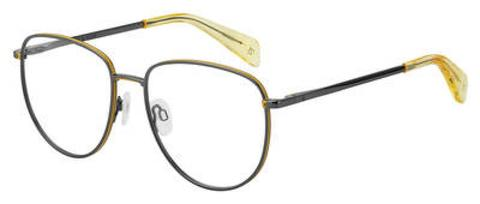 Rag & Bone - Rnb 7017 Dark Ruthenium Eyeglasses / Demo Lenses