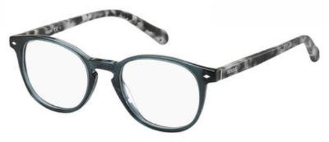Fossil - Fos 6043 Crystal Gray Eyeglasses / Demo Lenses