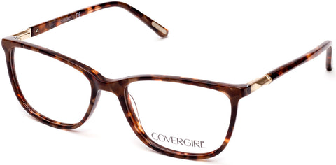 Cover Girl - CG0541 Dark Brown Eyeglasses / Demo Lenses