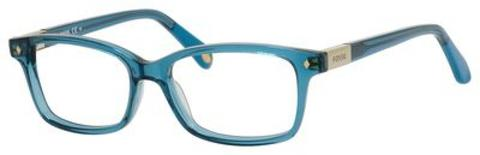 Fossil - Fos 6047 Transparent Petroleum Eyeglasses / Demo Lenses