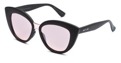 Italia Independent - Messina Black Sunglasses / Rose Lenses