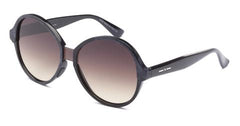 Italia Independent - Suez Black + Grey Acetate Sunglasses / Shaded Brown Lenses