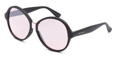 Italia Independent - Suez Black Sunglasses / Rose Lenses