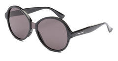 Italia Independent - Suez Holographic Black Sunglasses / Full Grey Lenses