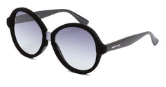 Italia Independent - Suez Black Velvet Sunglasses / Shaded Grey Lenses