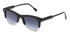 Italia Independent - Jared Crystal Black Sunglasses / Shaded Grey Lenses
