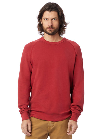 Alternative Apparel - Champ Washed French Terry Faded Red Sweatshirt