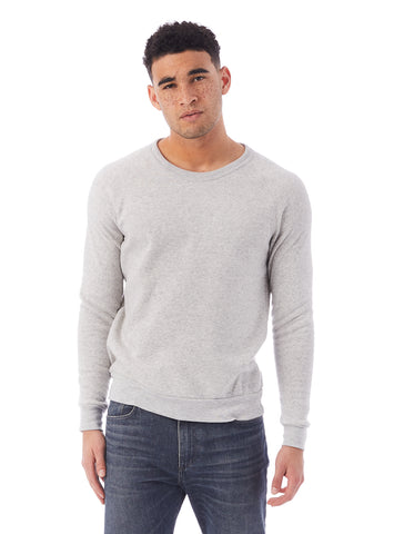 Alternative Apparel - Champ Eco Fleece Eco Light Grey Sweatshirt