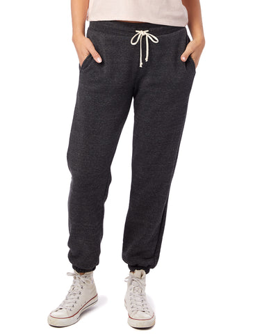 Alternative Apparel - Classic Eco-Fleece Eco Black Sweatpants