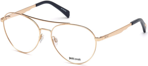 Just Cavalli - JC0855 Shiny Pink Eyeglasses / Demo Lenses