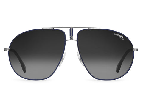 Carrera - Bound Blue Ruthenium Sunglasses / Dark Gray Gradient Lenses