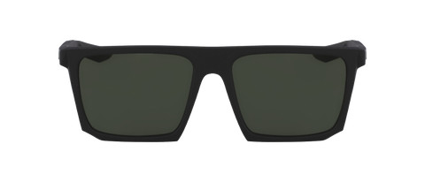 Nike - SB Ledge Matte Black Sunglasses / Green Lenses