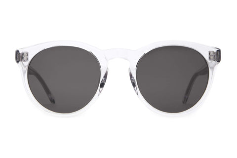 Crap Eyewear Shake Appeal Crystal Sunglasses / Grey Lenses