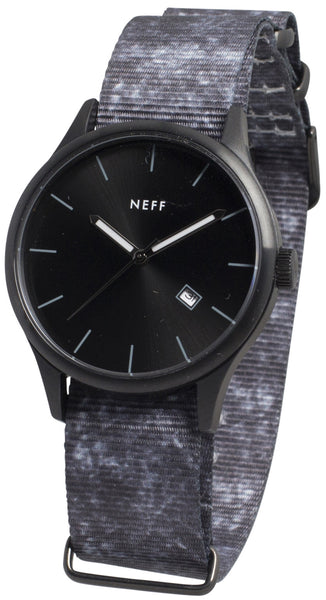 Neff - Esteban Black/Crystal Watch